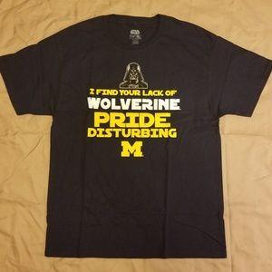 Star Wars Edition Michigan Wolverines T-shirt